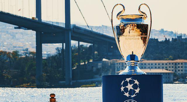 UEFA Şampiyonlar Ligi Kupası Pepsi ve Ruffles ev sahipliğinde İstanbul Boğazı ile buluştu