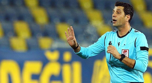 Adanaspor - Samsunspor maçının hakemi açıklandı