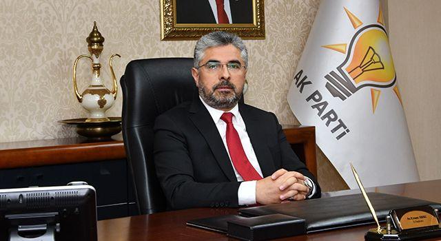 AK Parti Samsun İl Başkanı Ersan Aksu'dan Ramazan Bayramı Mesajı