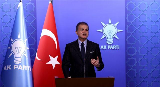 AK Parti Sözcüsü Çelik: Rum kesiminin AB'yi kendi oyuncağı haline getirmesi kabul görüyorsa, bu onlara hayırlı olsun