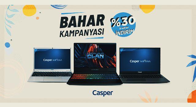 Casper'ın Teknoloji Baharında Büyük İndirimler Devam Ediyor