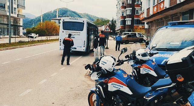 İstanbul'dan belgesiz yolculuk jandarmaya takıldı