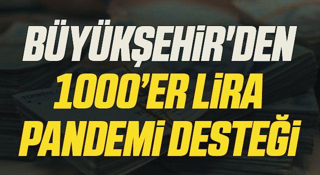 Samsun Büyükşehir'den 5 bin esnafa pandemi desteği