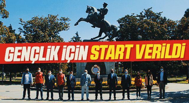 Samsun'da Gençlik İçin Start Verildi!