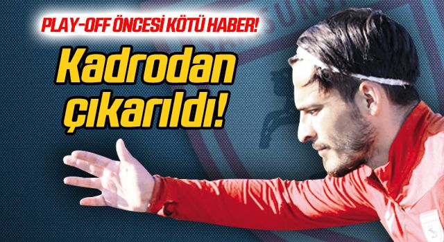 Samsunspor'da İlyas Kubilay şoku!