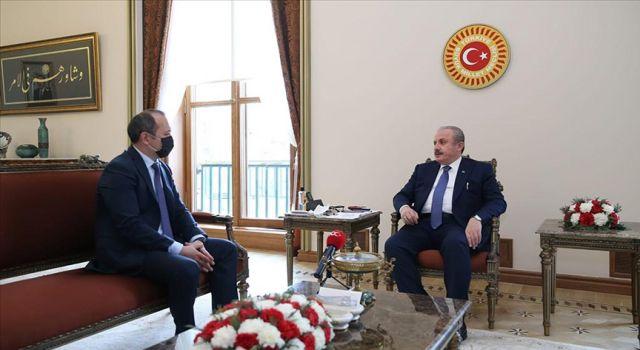 TBMM Başkanı Şentop: Kırgızistan ve Tacikistan arasındaki sorunların kalıcı çözümü için adımlar atılması temennimiz