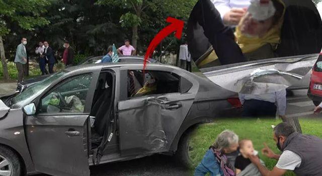 Ahmet Davutoğlu'nun konvoyunda kaza! Genel Başkan Yardımcısı ve bir çocuk yaralandı