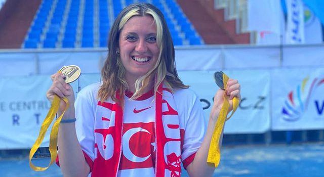 Başkan Doğan'dan Dünya Şampiyonu Fatma Damla Altın'a Kutlama