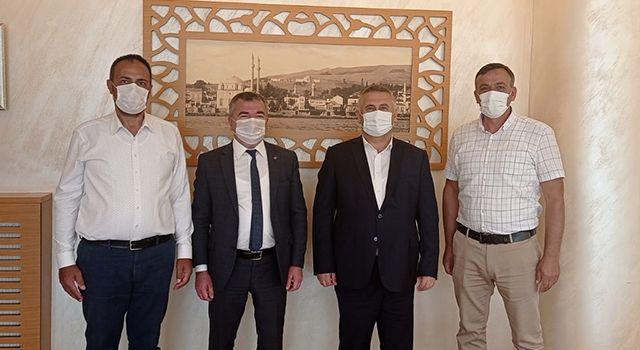 Başkan Özdemir'den işbirliği mesajı