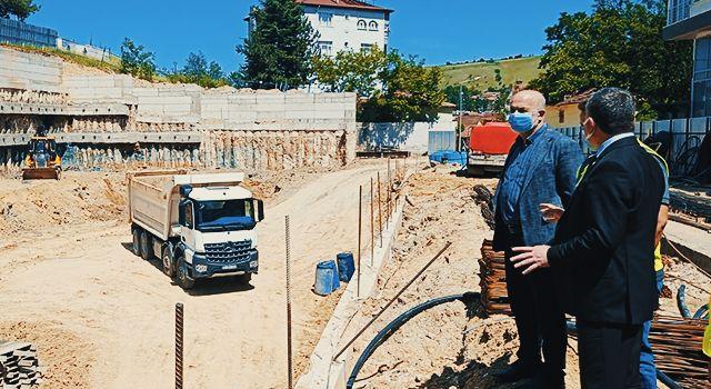 Havza'ya 353 araç kapasiteli otopark