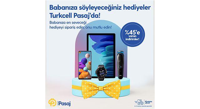 Hem karne hem Babalar günü için hediyenin adresi Turkcell