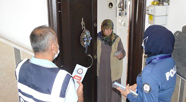 Kapı kapı hırsızlık uyarısı