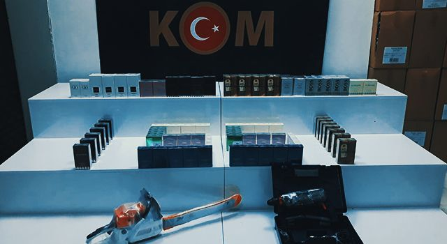 Kargodan 120 kaçak parfüm ele geçti