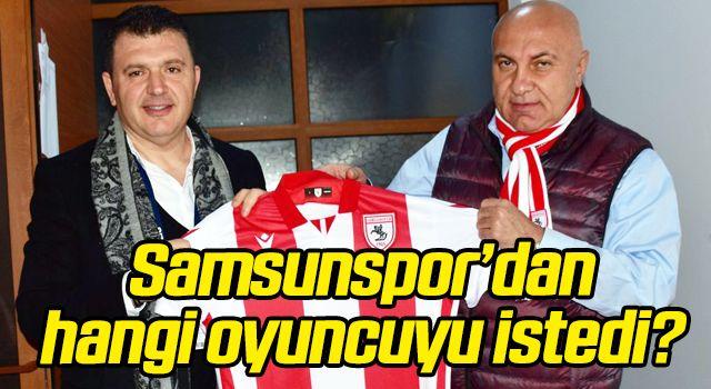 Manisa FK Başkanı Aktan, Samsunspor'dan hangi oyuncuyu istedi?
