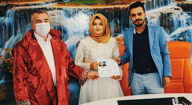 Nikah kıyan Havza Belediye Başkanı Sebahattin Özdemir'den uyarı
