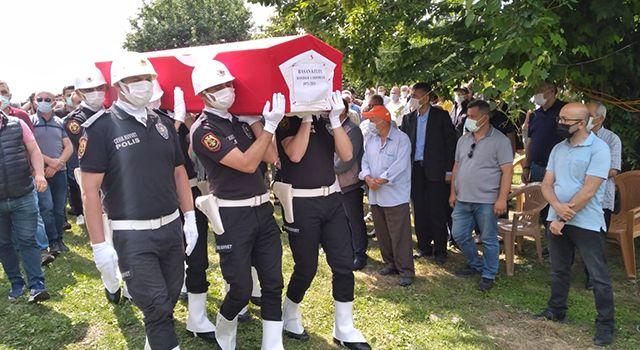 Polis memuru Keleş'e son görev