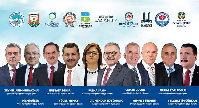 SamsunBüyükşehir Belediye Başkanı Mustafa Demir Kayseri'yi keşfedecek