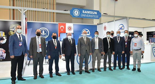 Samsun Üniversitesi Rektörü Mahmut Aydın: Bu fuar bizim için bulunmaz bir nimet