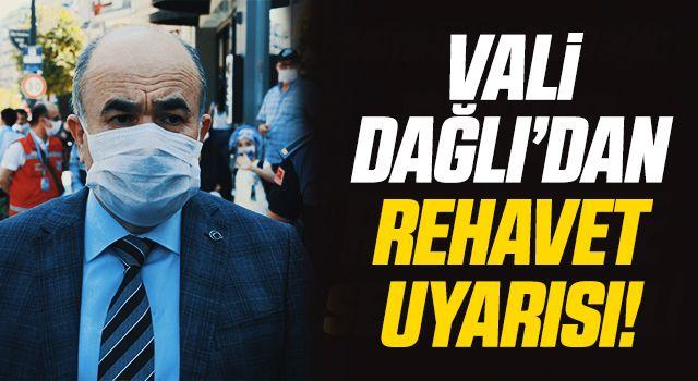 Samsun Valisi Dağlı'dan salgınla mücadelede rehavete kapılmamak gerektiği uyarısı