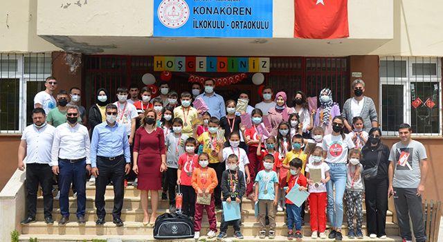 Samsun'da 800 çocuk sporla buluştu