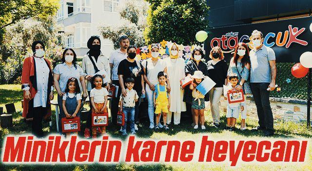 Samsun'da AtaÇocuklu Miniklerin karne heyecanı