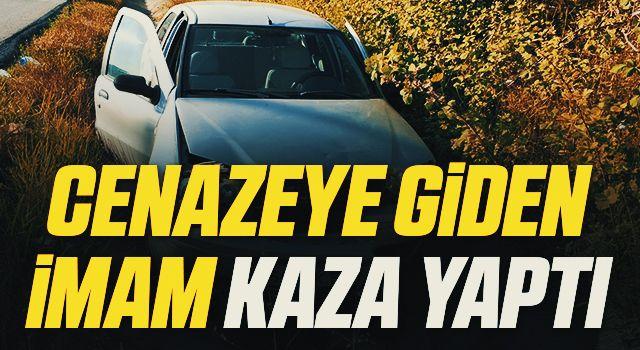 Samsun'da Cenazeye giden imam kaza yaptı