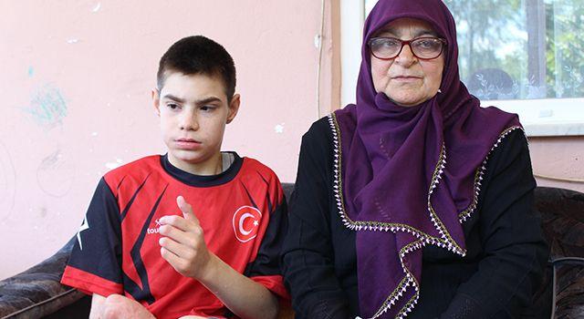 Samsun'da Engel dolu yaşamına 'Umut' bekliyor