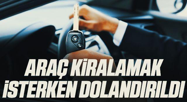 Samsun'da İnternetten araç kiralamak isterken 2 bin 750 lira dolandırıldı