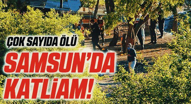 Samsun'da Katliam! 3 Kişi Öldü