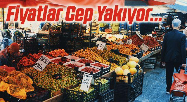 Samsun'da Pazarda Fiyatlar Cep Yakıyor!