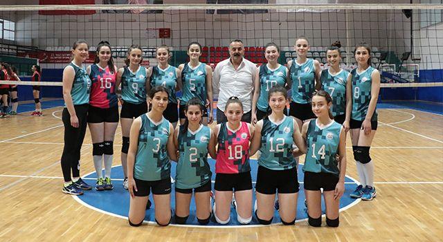 Samsun'da Voleybol'da 2 Final Bileti