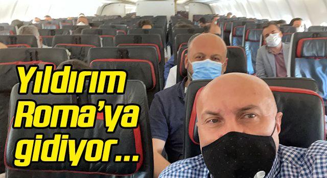 Samsunspor Başkanı Yıldırım Roma'ya gidiyor