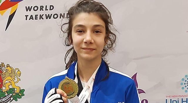 Türk Telekom'un yıldız tekvandocusuAvrupa Şampiyonu