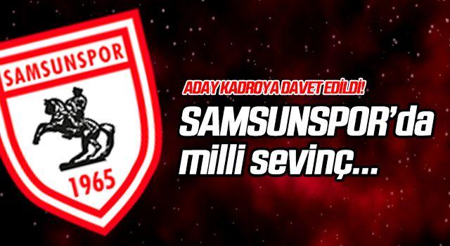 Yılport Samsunspor'da Milli sevinç