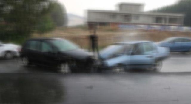 Bayram dönüşü trafik kazası: 2 yaralı
