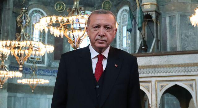 Cumhurbaşkanı Erdoğan: Bu ulu mabedin kubbelerinden ezan sesleri kıyamete kadar eksik olmayacak