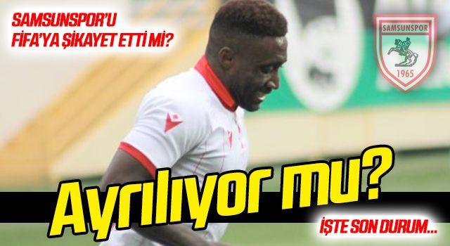 Djedje Samsunspor'dan ayrılıyor mu? İşte son durum…