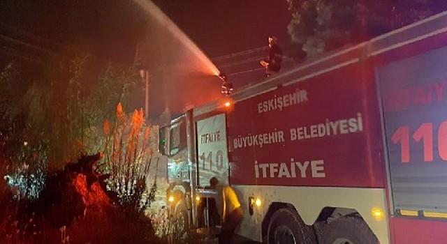 Eskişehir'den yangın söndürme çalışmalarına destek