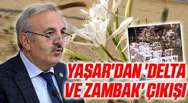 İYİ Parti Milletvekili Bedri Yaşar 'delta ve zambak' çıkışı