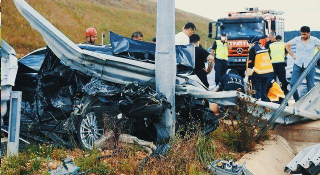 Kocaeli'de feci kaza! İş adamı Bedrettin Çağatay Yılmaz hayatını kaybetti