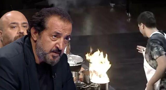 MasterChef'te yangın paniği! Danilo Zanna yarışmacıyı fena haşladı!