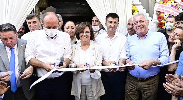 Memleket Partisi Genel Başkanı İnce, Samsun'da partisinin il başkanlığının açılışını yaptı