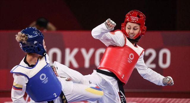 Milli tekvandocu Rukiye Yıldırım Tokyo'da bronz madalya maçına çıkacak