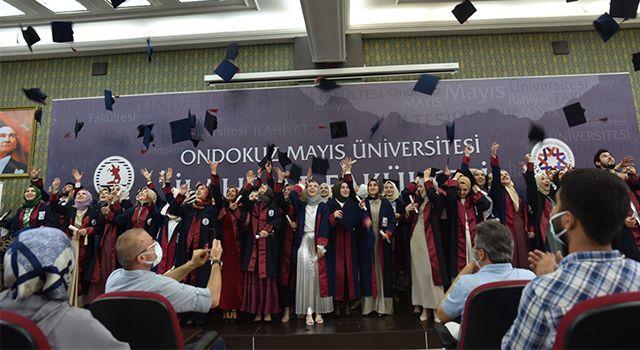 OMÜ İlahiyat Fakültesi bin mezun verdi