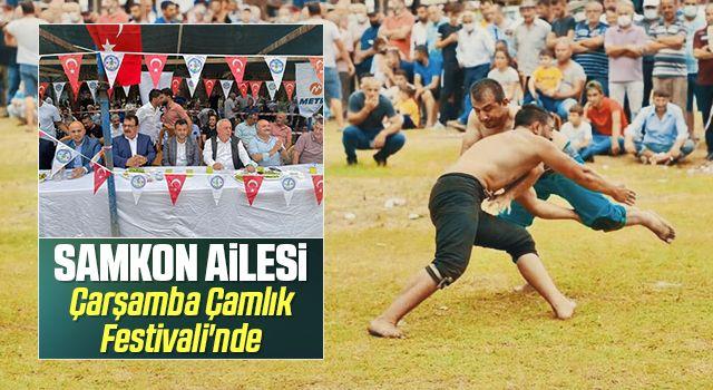SAMKON Ailesi Çarşamba Çamlık Festivali'nde