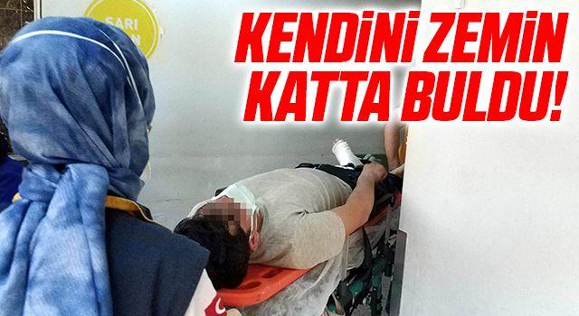 Samsun'da 3. katın balkonundan düşen genç ölümden döndü