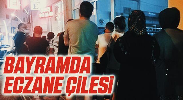 Samsun'da Bayramda eczane çilesi