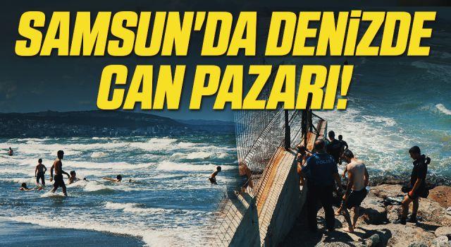 Samsun'da Denizde Can Pazarı! Kızları Babasını Kurtarmak İçin...