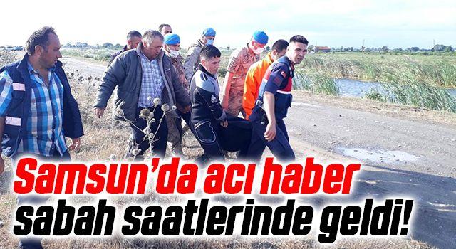 Samsun'da Denizde kaybolan şahsın cesedi bulundu