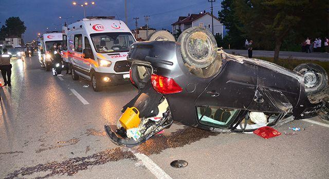 Samsun'da Feci Kaza! 2'si Ağır 3 Yaralı